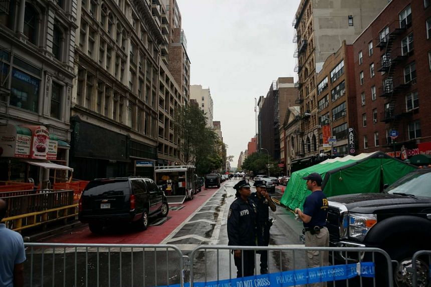 Tighter security checks, bomb-sniffing dogs and traffic delays greet locals and visitors in New York this week.