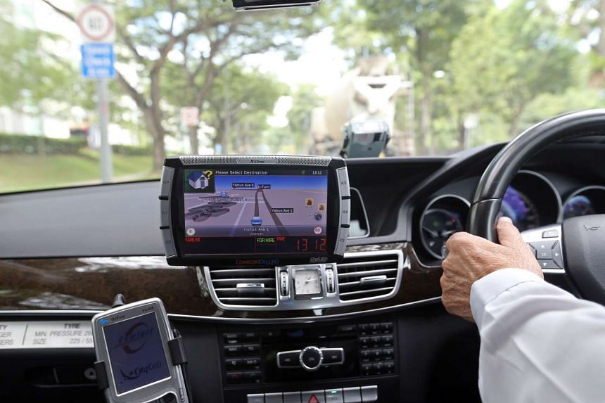 The taxis' in-car mobile display terminal will send out an alert whenever the taxi approaches red-light and speed cameras.