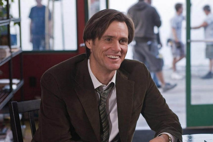 Jim Carrey on the set of comedy movie Yes Man in 2008.