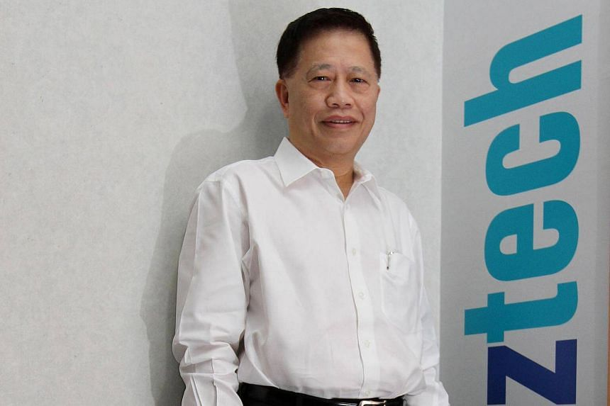 Aztech Group's co-founder, chairman and CEO, Michaeal Mun Hong Yew.