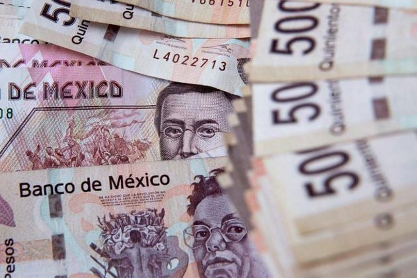 Donald Trump is partly blamed for the Mexican peso's free fall.