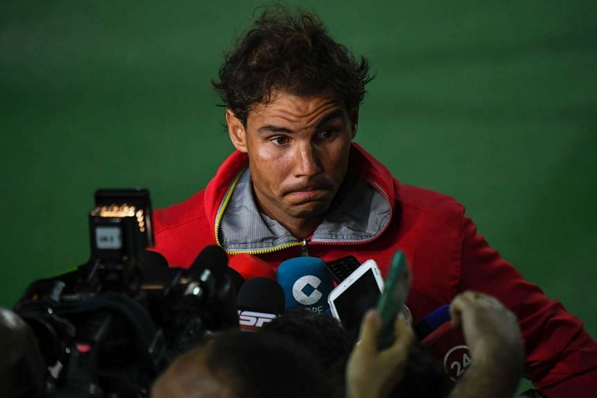 Rafael Nadal (above) and British Olympic great Mo Farah said they have nothing to hide after their medical records were the latest to be leaked by a cyber-hacking group on Monday.