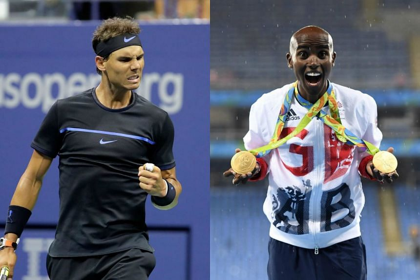 Tennis star Rafael Nadal (left) and British Olympic great Mo Farah said they have nothing to hide after their medical records were leaked by a cyber-hacking group.
