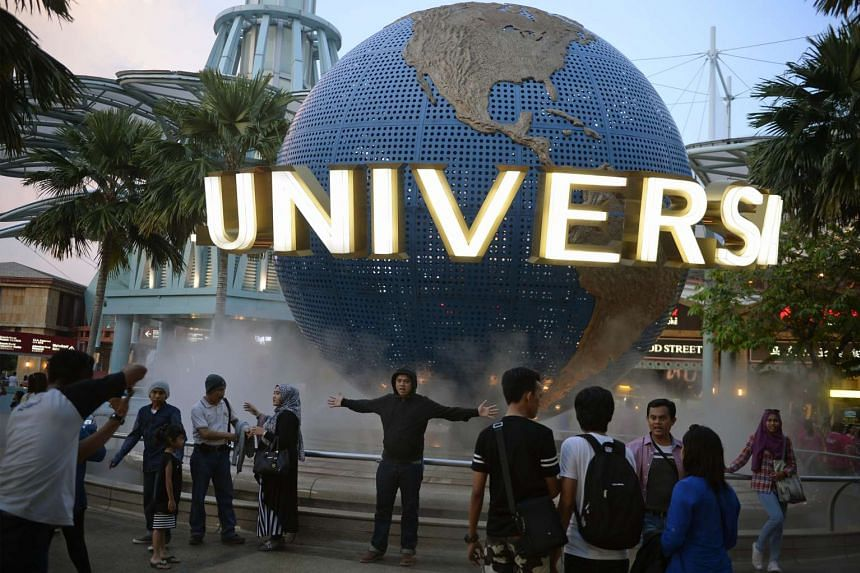 Universal Studios Singapore is one of the finalists for the best attraction experience award.