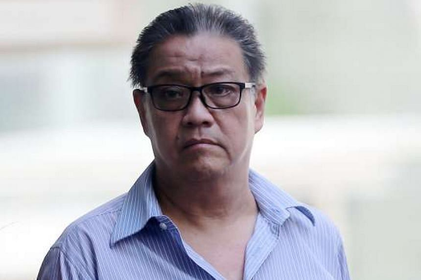 Tan Poh Huat, a coffeeshop owner accused for causing grievous hurt to a bus driver.