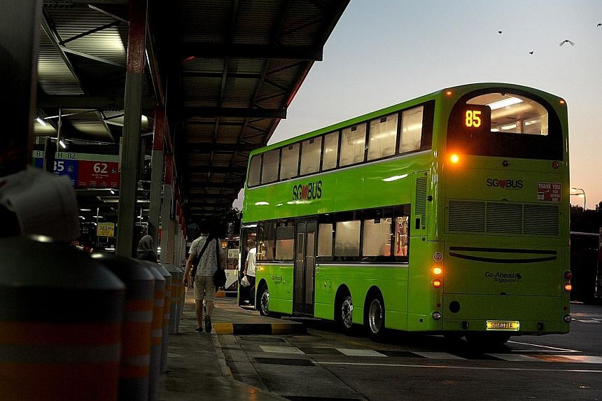 """Go-Ahead, which began operations about two weeks ago, said a number of bus captains - fewer than 20 - had left because of """"the steep learning curve"""" of its interlining model, which requires them to drive at least two different routes a week."""
