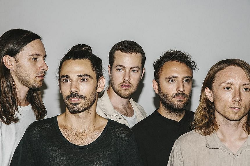 Sunlit Youth is the third album by Local Natives' (from far left) Nik Ewing, Taylor Rice, Ryan Hahn, Kelcey Ayer and Matt Frazier.