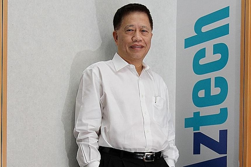 Aztech founder and chief executive Michael Mun said his main reasons for launching the cash offer are thin trading liquidity and the struggle for management flexibility.