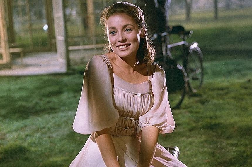 Charmian Carr as Liesl von Trapp in The Sound Of Music.