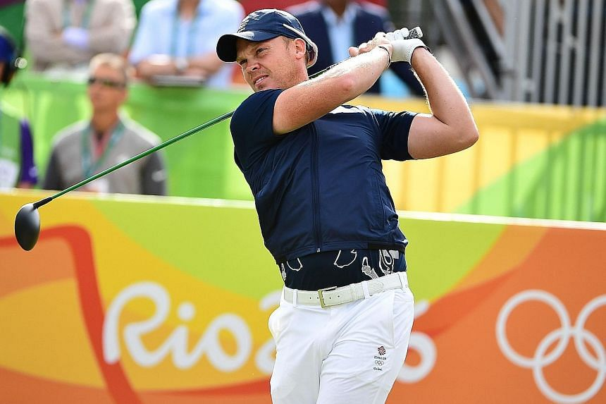 Britain's Danny Willett, who won the Masters and is seen here playing in the Rio Olympics where he was tied for 37th, is one of six debutants in the European Ryder Cup squad.
