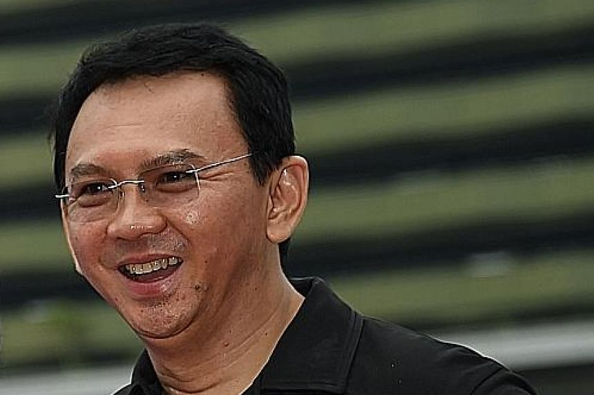 Mr Basuki, better known as Ahok, has been Jakarta governor since 2014.