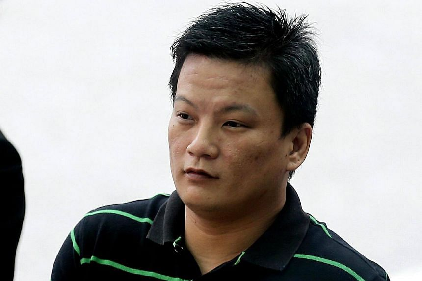 Vincent Chong Kok Beng was jailed for 2½ years for hitting a pub patron in his eye with a drinking glass.