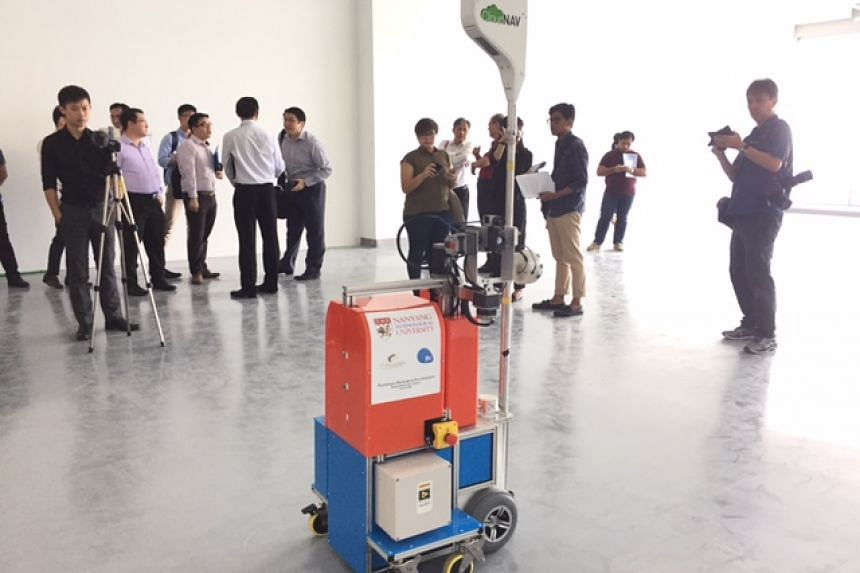 The QuicaBot was invented by scientists from Nanyang Technological University.