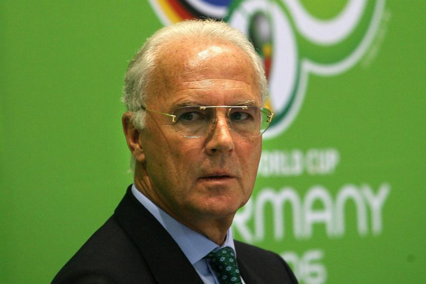 """More than half of Germans polled said that football legend Franz Beckenbauer (pictured, in 2006) no longer deserves his nickname of """"Kaiser Franz""""."""