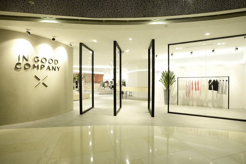 Home-grown retailer In Good Company is up against established retailer Robinson & Co in the best shopping experience category of the Singapore Tourism Awards.