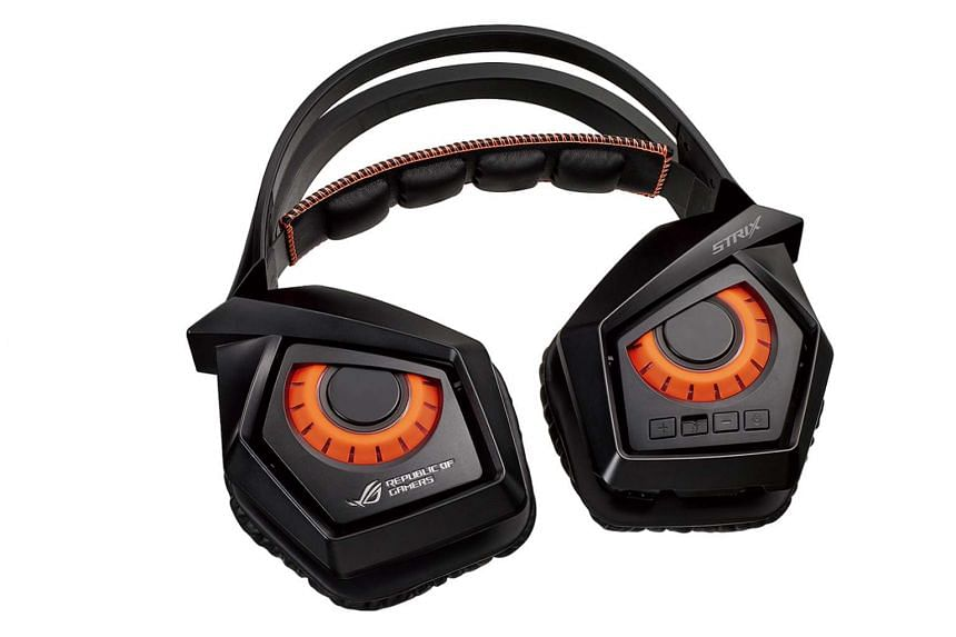 The Strix Wireless headset is designed to look like an owl, the company's mascot.