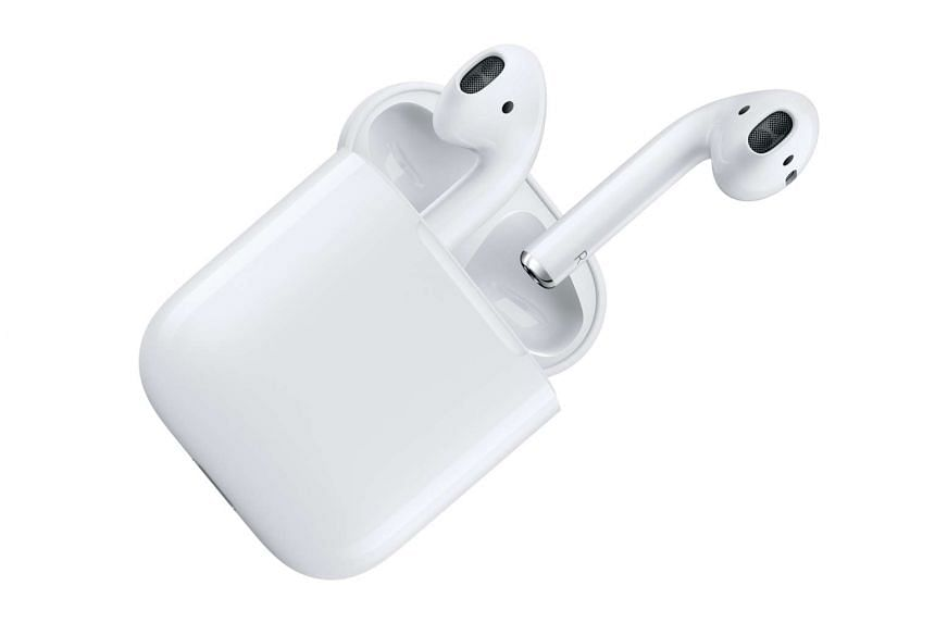 The earbuds are housed in a minimalist white case, which doubles as one for charging.