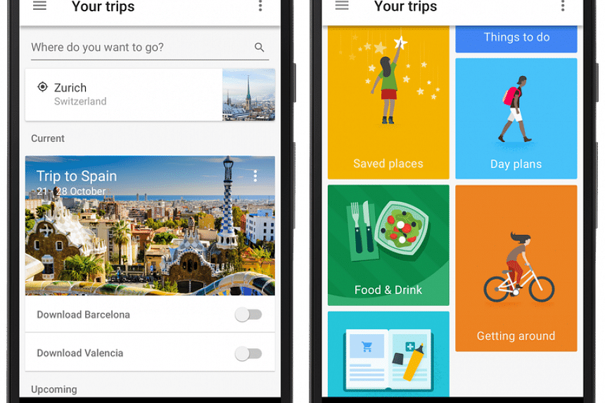 Google Trips is a new travel organiser app launched by Google.
