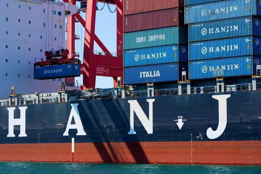 Hanjin Shipping Co's former chairman, Choi Eun Young, is being investigated for possible insider trading after she sold all her stock in the company.