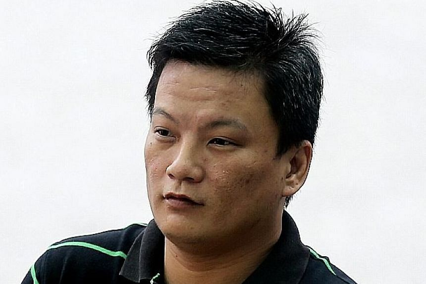 For causing grievous hurt, Chong (above), who has previous convictions, could have been jailed for 10 years, and fined or caned.