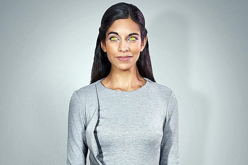 Harveen Sandhu stars as a computer- generated digital being in Halcyon, which is set in 2040 and investigates what appears to be the first real-life murder to take place in virtual reality.