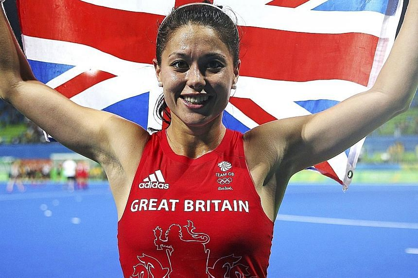 """British hockey player Sam Quek says the Fancy Bears wrongly implied that medical exemptions are a """"licence to cheat""""."""