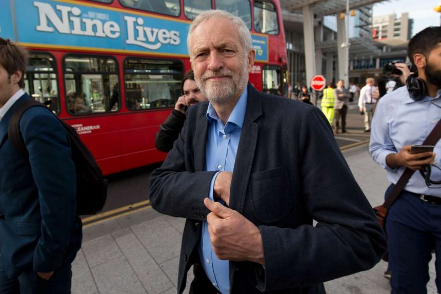 Britain's opposition Labour Party leader Jeremy Corbyn in London on Aug 16, 2016.