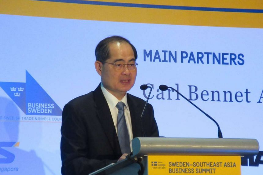 Singapore is an ideal destination for Swedish companies, said Trade and Industry Minister Lim Hng Kiang yesterday (Sept 21).