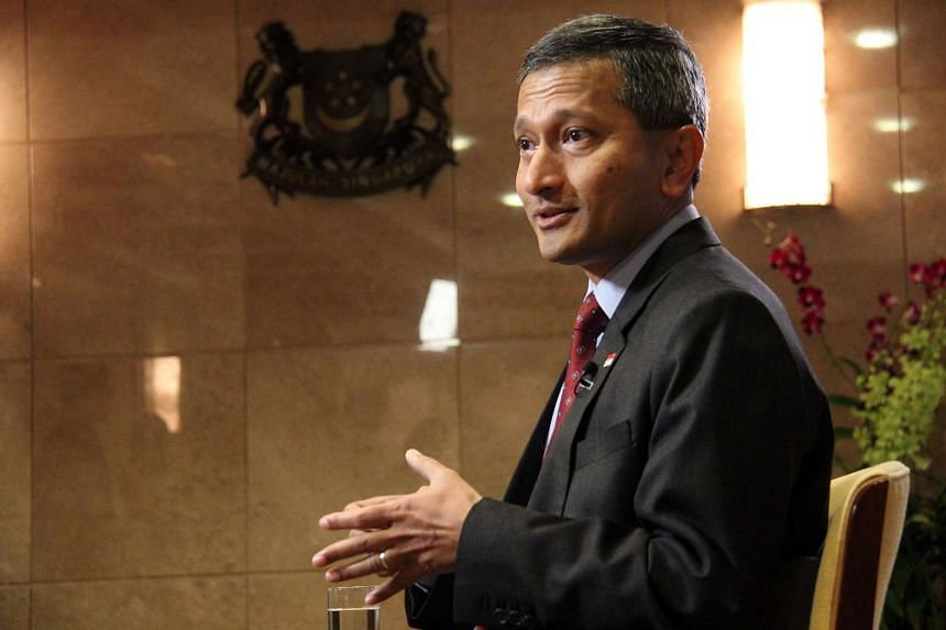 File photograph of Dr Vivian Balakrishnan, Singapore's Minister for Foreign Affairs.