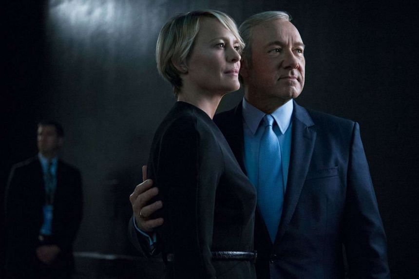 Singaporean viewers took two more episodes than global viewers to become fans of House Of Cards, starring Robin Wright and Kevin Spacey.