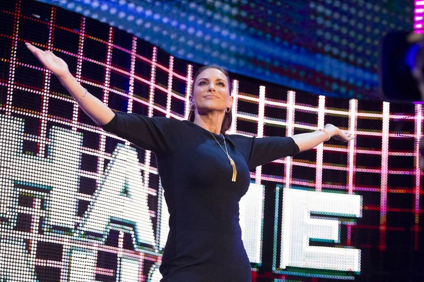 """WWE's Stephanie McMahon loves playing the villain on television as it's """"so much more fun""""."""