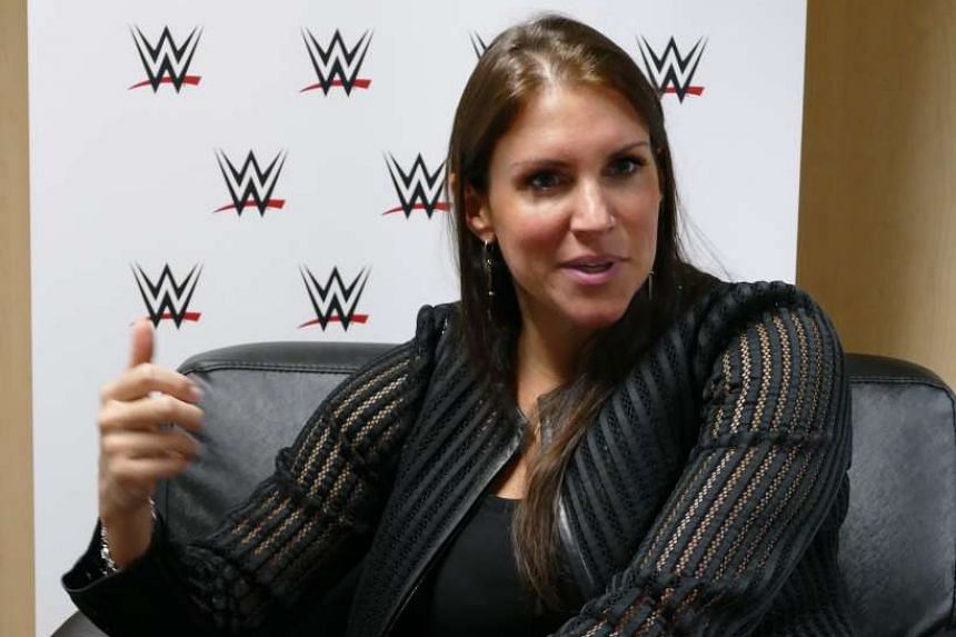 WWE's Stephanie McMahon was in Singapore last week to speak at All Sports Matters, held at Marina Bay Sands on Sept 13, 2016.