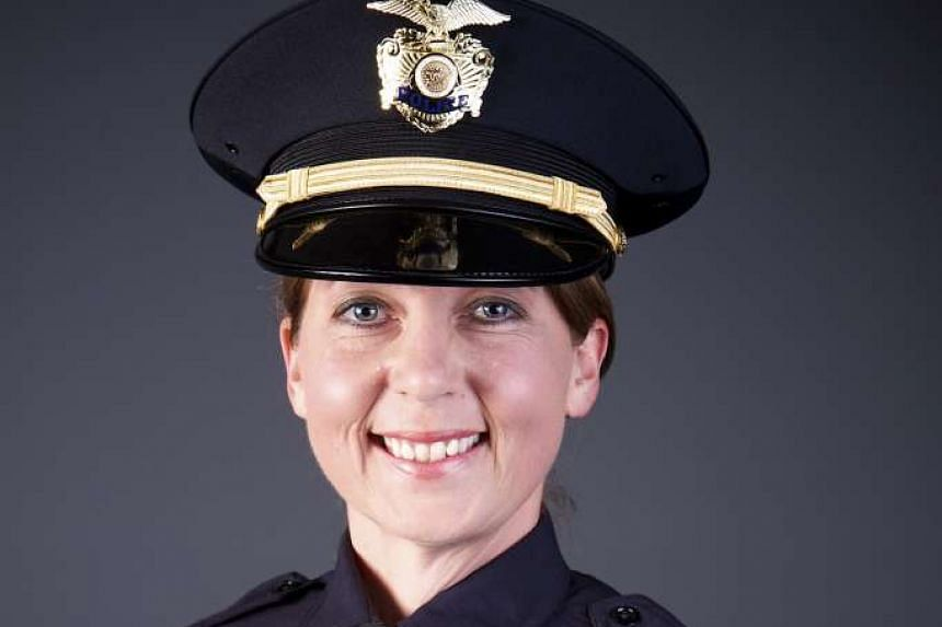 Betty Shelby of the City of Tulsa Police Department, is shown in this undated photo provided Sept 21, 2016.