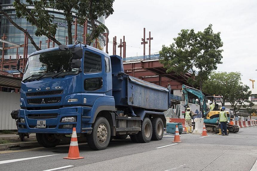 The LTA says another 7,354 commercial vehicles will be scrapped in the second quarter of 2017 - nearly double 2015's quarterly figure.