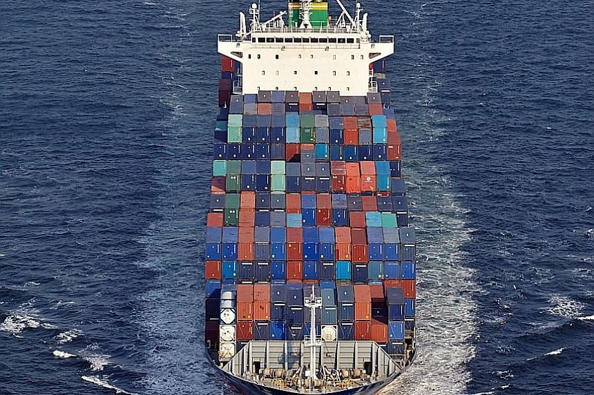 A Rickmers Maritime vessel. Rickmers Maritime Trust has announced a revised restructuring plan for its notes due next year, after taking feedback from note holders last week.