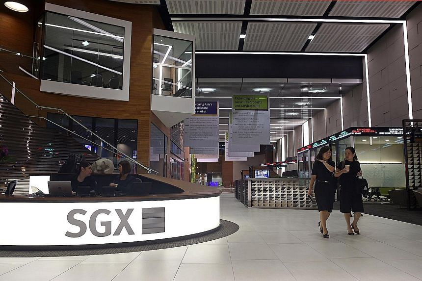 Mr Loh Boon Chye (above), CEO of SGX, faced questions about his $3.2 million pay package.
