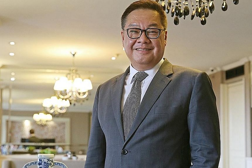 Far East Hospitality chief executive Arthur Kiong says the company has leveraged technology and centralised key functions - such as finance - to improve its productivity and keep its workforce lean.