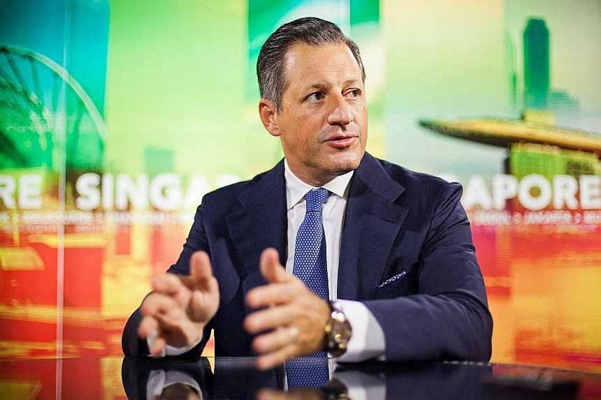 """Mr Boris Collardi, chief executive officer of Julius Baer Group, says Asia """"could be the biggest region"""" for the group in the next five years."""