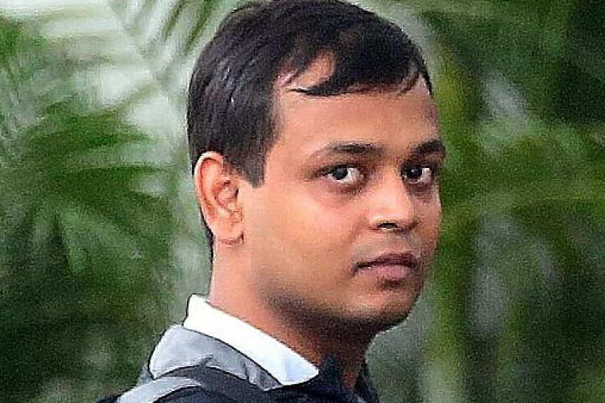 Rakesh allegedly pressured the yoga studio receptionist to message the victim.