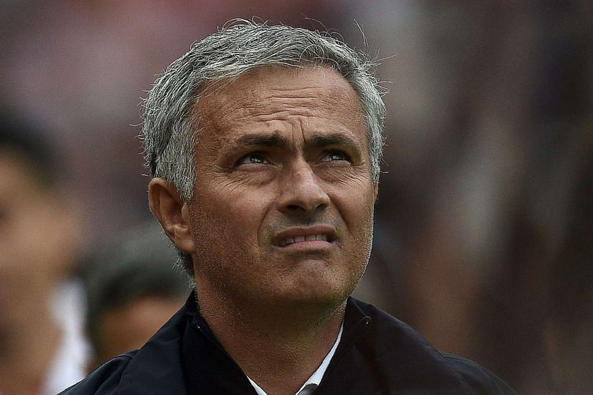 Mourinho (above) has sarcastically labelled himself the worst manager in football history after criticism over a slum in form.