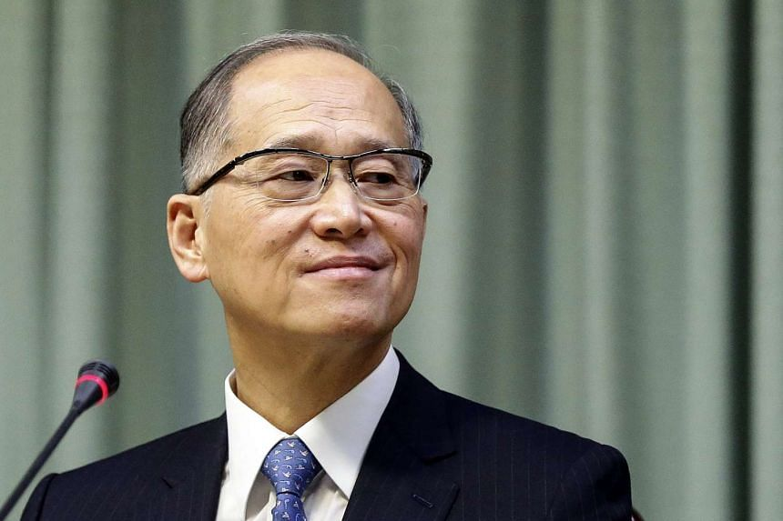 Taiwan's Foreign Minister David Lee during a press conference in Taipei on Sept 23, 2016 to protest Taiwan's exclusion from the 2016 International Civil Aviation Organisation.
