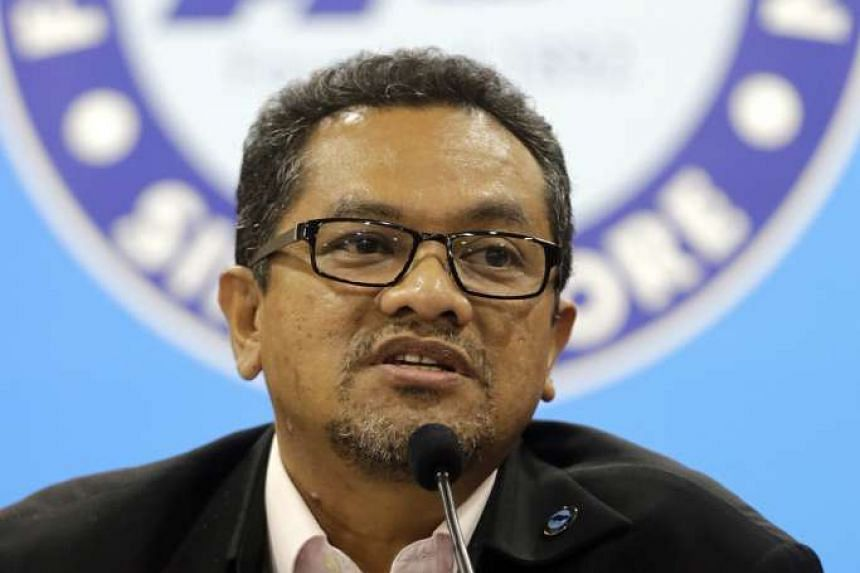 Football Association of Singapore (FAS) president Zainudin Nordin.