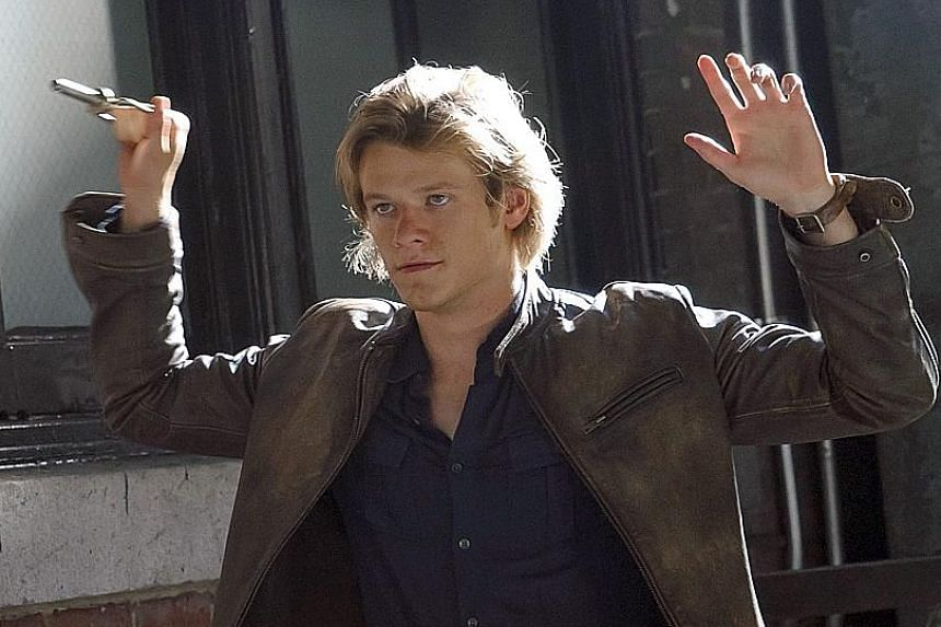 Clayne Crawford (top) as Martin Riggs in Lethal Weapon and Lucas Till (above) as MacGyver.