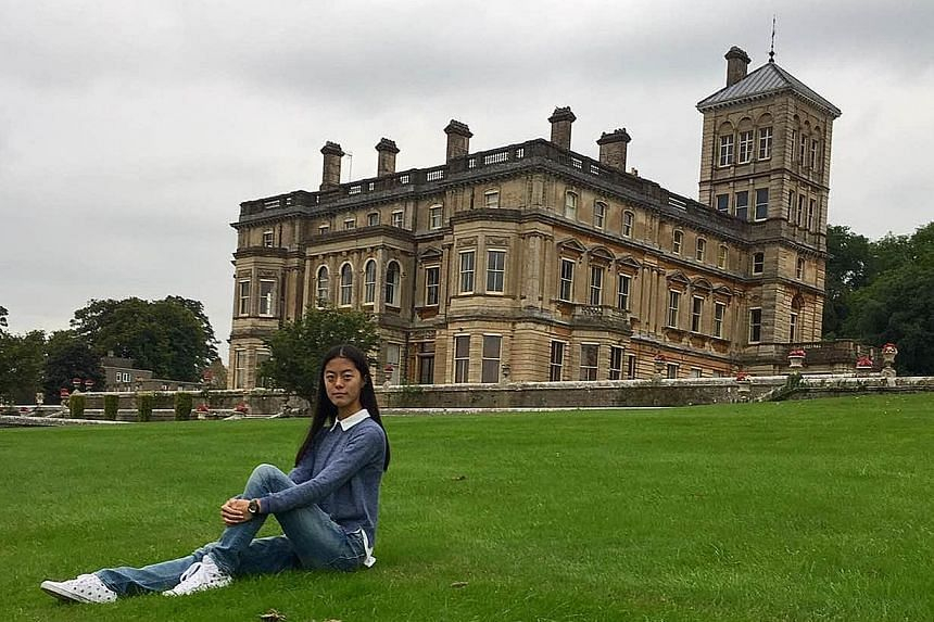 Li Bingzhi, 15, left Beijing this month for a boarding school in south-west England where her father believes she can get a more well-rounded education. Her annual school fees are about $81,000.