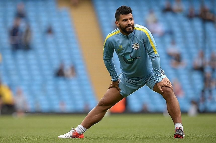 After serving a three-match suspension for elbowing Winston Reid last month, Sergio Aguero is set to return against Swansea.
