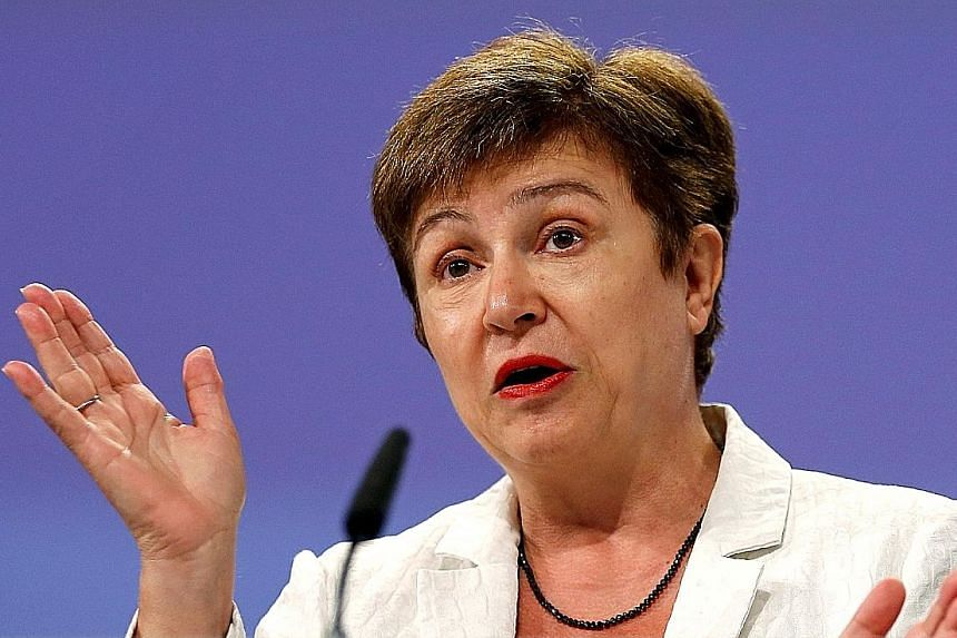 """Ms Georgieva, a 63-year-old economist who serves as the European Union's budget commissioner, says it is up to the Bulgarian government to decide on whether to nominate her as a candidate to succeed UN Secretary-General Ban Ki Moon. She added: """"I'm v"""
