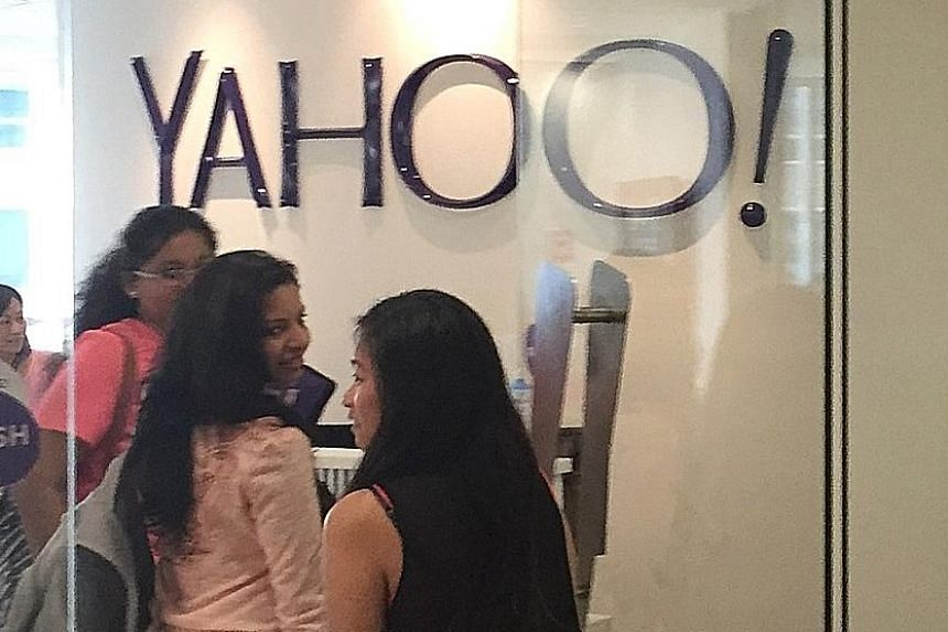 Yahoo's Singapore office in Anson Road. The US Internet firm learnt of the data breach in July this year but did not say why it informed the public of the hacking only on Thursday. The incident involves stolen data from at least 500 million user acco