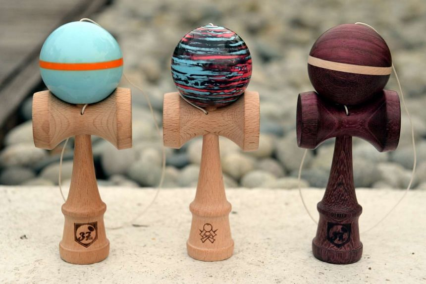 Kendama, a traditional Japanese toy.