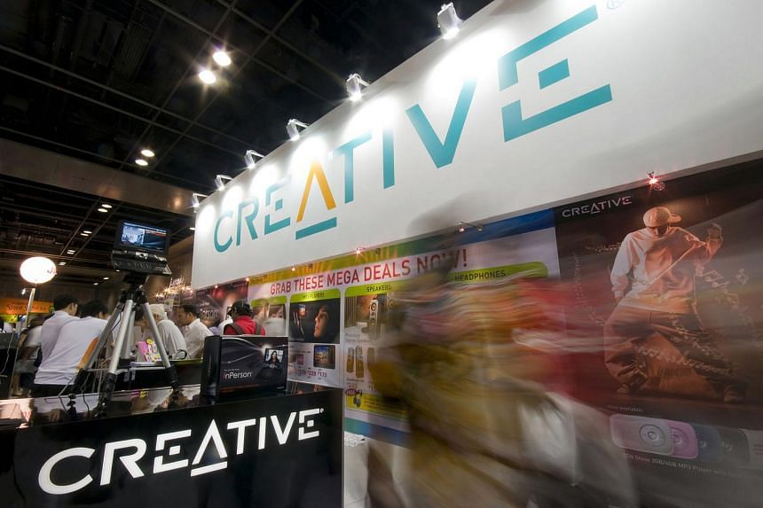 Creative has filed a notice of appeal over a patent-related case that was dismissed by a judge.