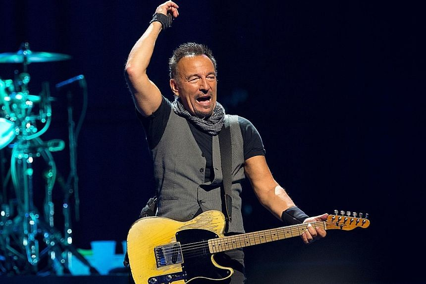 "Rocker Bruce Springsteen says Mr Donald Trump knows how to tell voters ""some of the things they want to hear""'."
